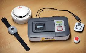 telecare base unit and sensors